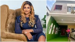 Na we dey feed man sef: Actress Etinosa Idemudia reacts to claims of buying her house by sleeping with men
