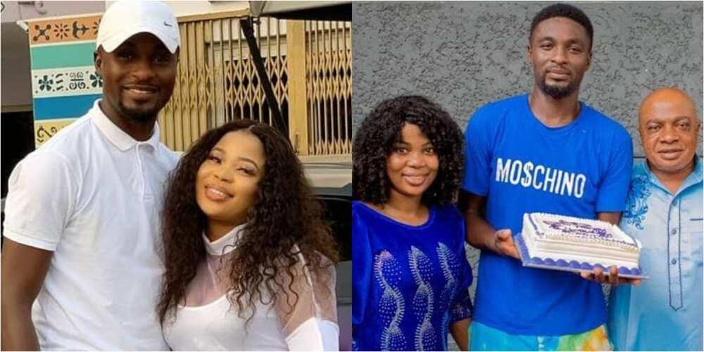 Adeniyi Johnson and wife Seyi Edun
