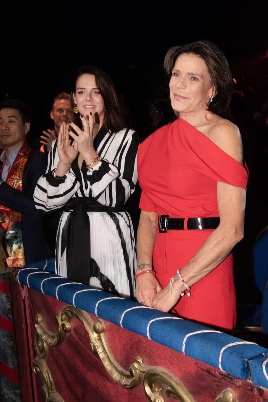 Pauline Ducruet et la princesse Stéphanie de Monaco
