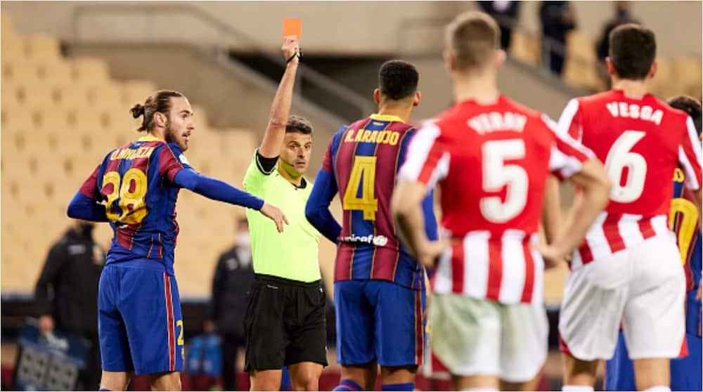 For issuing legendary Lionel Messi his first ever red card in club football, authorities set to do 1 thing to referee