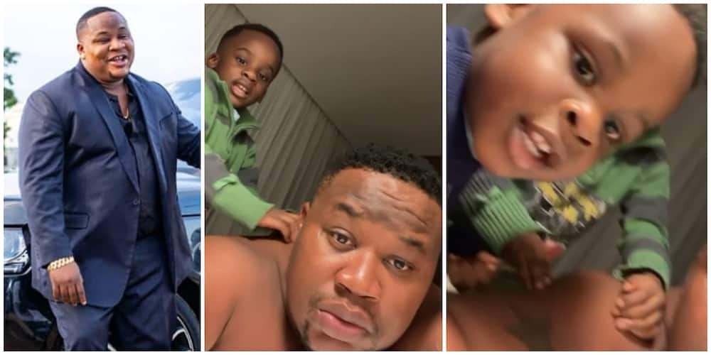 Cubana Chiefpriest shares adorable video with his two sons in Dubai