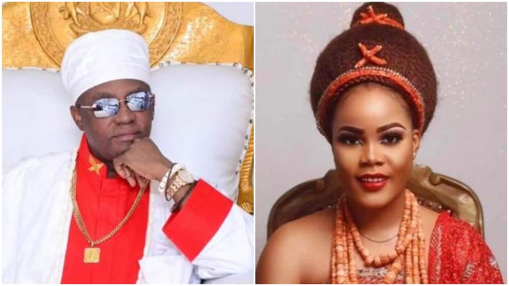 Oba of Benin, fifth wife welcome quadruplets, to announce naming ceremony