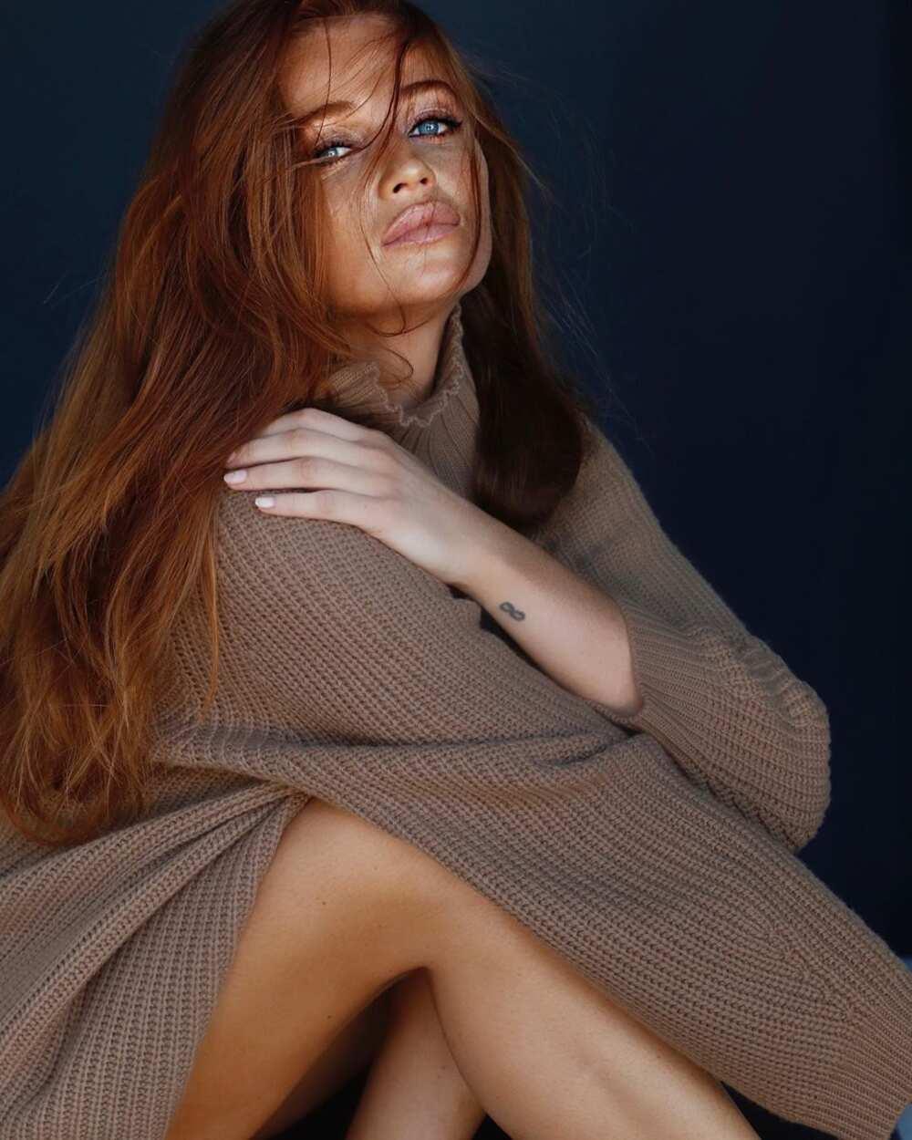 redhead actresses