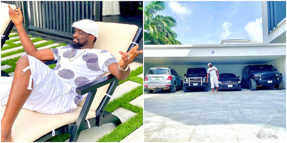 Music Executive Jude Okoye Puts His Luxury Cars on Display, Fans Are Not Impressed