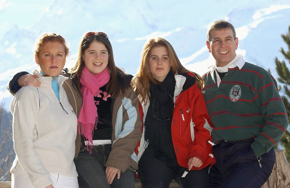 Le prince Andrew et sa famille