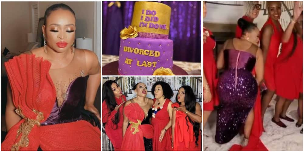 Nigerian Doctor Throws Elaborate Party to Celebrate Her Divorce, Shares Fun Videos Online