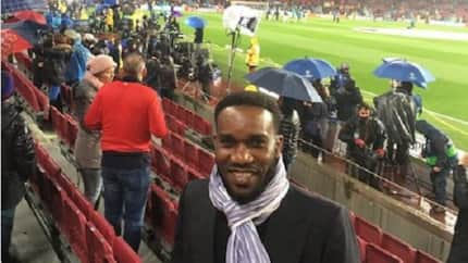 2019 AFCON qualifier: Okocha predicts what will happen during Eagles and Bafana clash