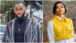 BBNaija: Fans send lovely gifts to Emmanuel and Liquorose for making a U-Turn on their dating status