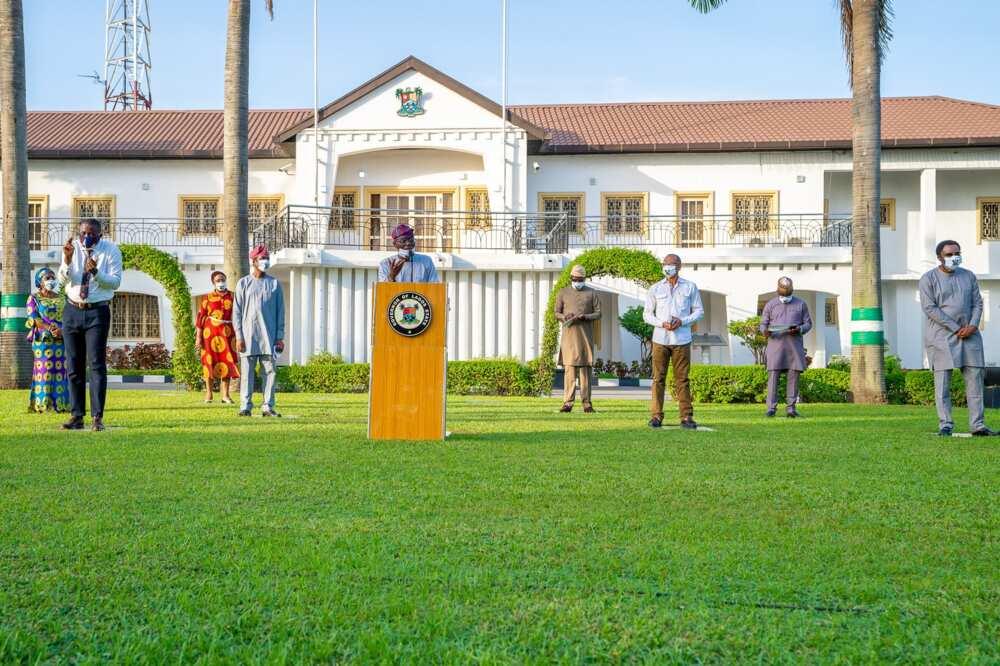 Sanwo-Olu speaks on coronavirus