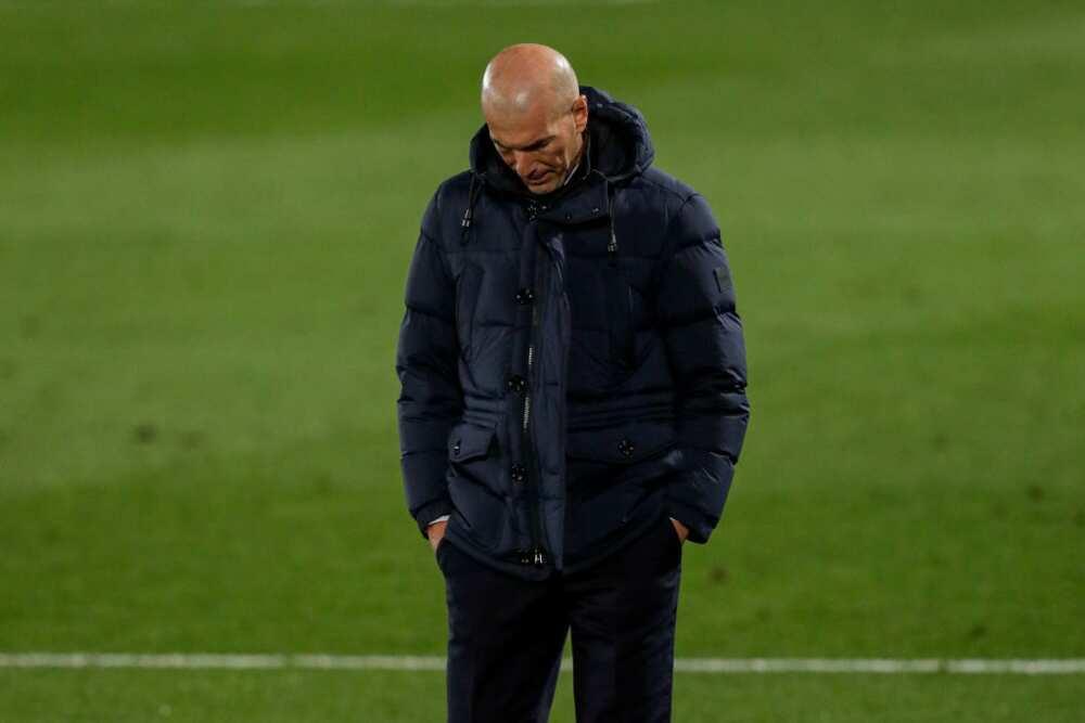 Zinedine Zidane gets 2 match ultimatum to save his Real Madrid job