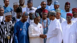 Stop spreading false reports about Buhari's so-called plans to Islamise Benue - Presidency warns Governor Ortom
