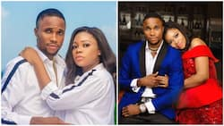 Adorable pre-wedding photos of cute Nigerian couple hits the internet