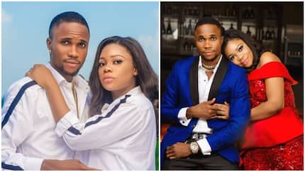 Adorable pre-wedding photos of cute Nigerian couple hits the internet