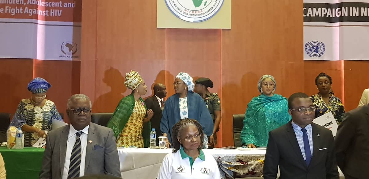 Aisha's Buhari task health minister on funding for women living with HIV