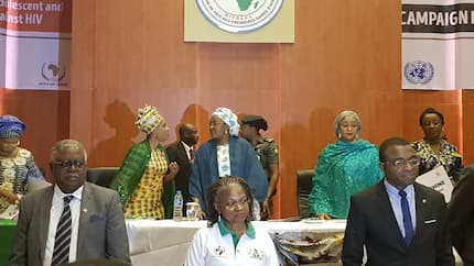 Mobilise funds from CBN, NNPC, others for people living with HIV - Aisha Buhari tells health minister (photos)