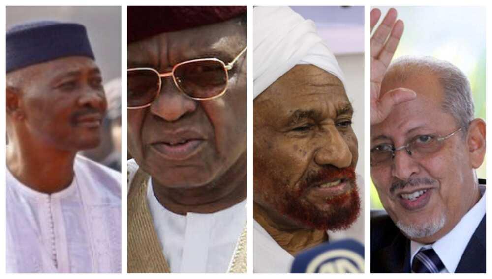 Tandja, Amadou Toure, Al Mahdi da Sidi Ould sun mutu a watan Nuwamba