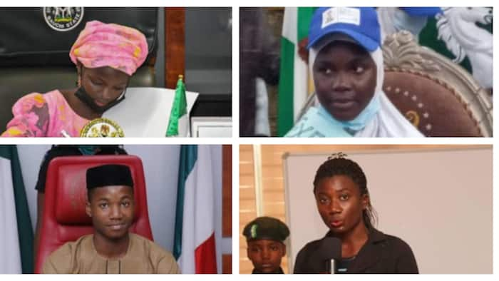 List: 6 Nigerian teenagers who occupied governors' seats, took drastic decisions