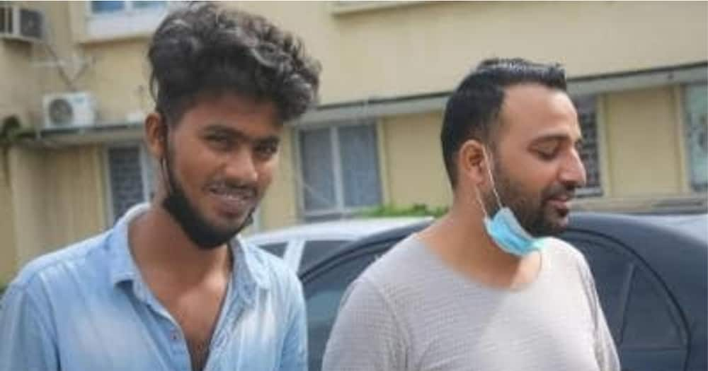 Two Indians arrested and charged for alleged illegal oil deal