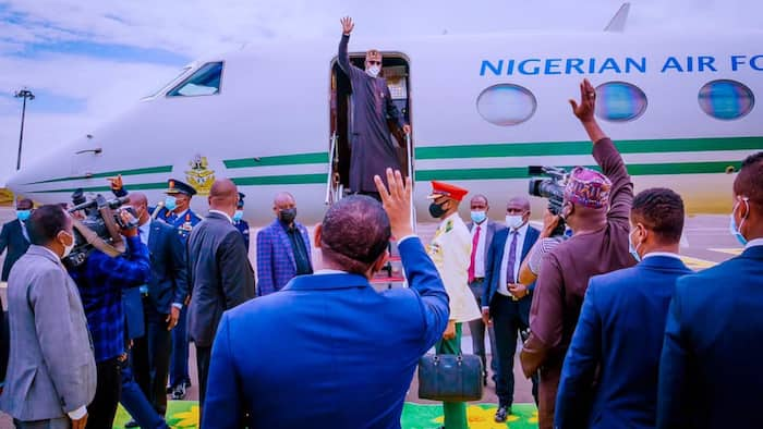 Nigerian Air Force reacts as report claims bandits were paid N20m to avoid shooting President Buhari's plane