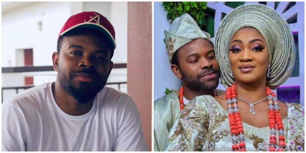 Actor Gabriel Afolayan Breaks Silence on Breakup Rumour, Says 'Marriage is Intact'