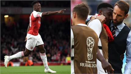 England players show amazing support for Arsenal star who recently broke his ankle