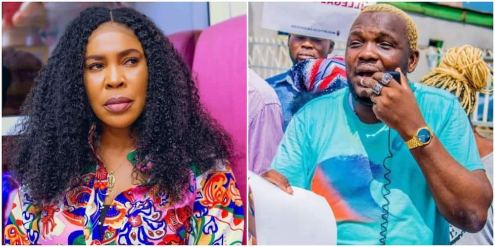 Internet Users Put Faithia Williams on Blast for Allegedly Featuring in Yomi Fabiyi's Oko Iyabo Movie