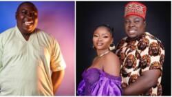 Nollywood actor Emeka Okoye drops sweet prewedding photo with beautiful fiancee