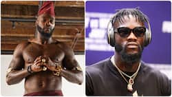 Former WBC champion Deontay Wilder reveals where in Nigeria he comes from, says he was born to be a warrior