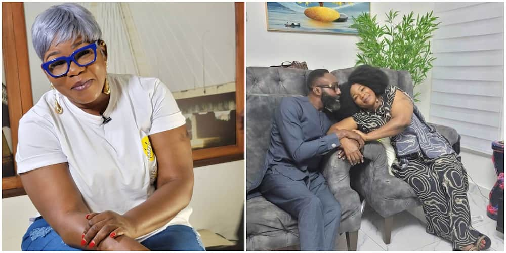 I Love You, Ada Ameh Writes As She Shares Cute Photo With Special Man in Her Life, Stirs Sweet Reactions