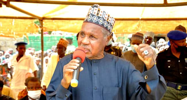 We won't negotiate with bandits, Masari tells security officers to go ruthless