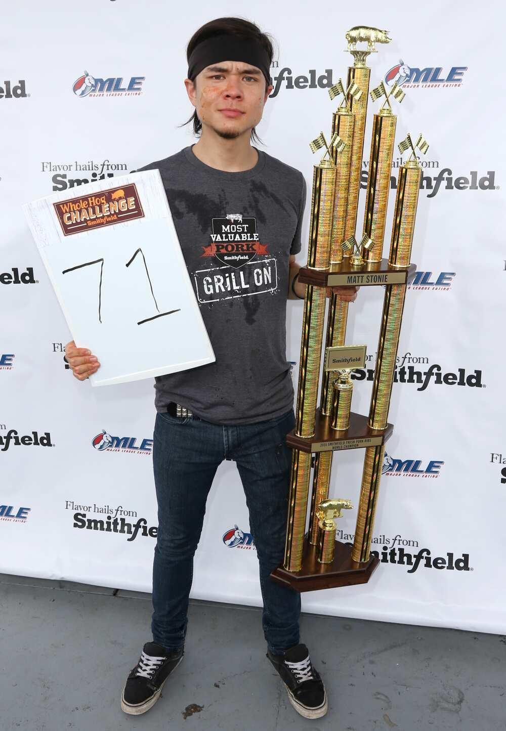 Matt Stonie height