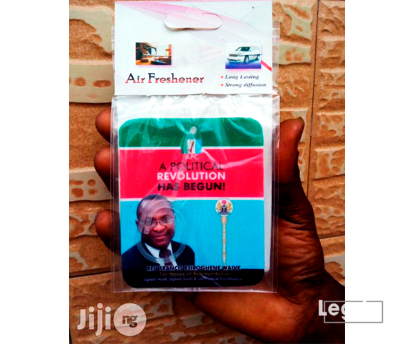 Air Freshener with Politician