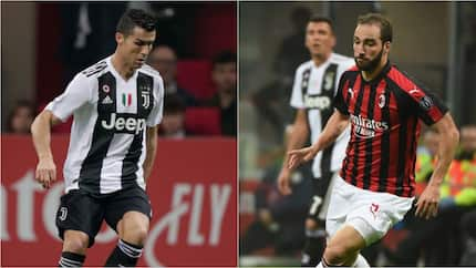 Ronaldo reveals message to Higuain after the striker's red card in AC Milan defeat against Juventus