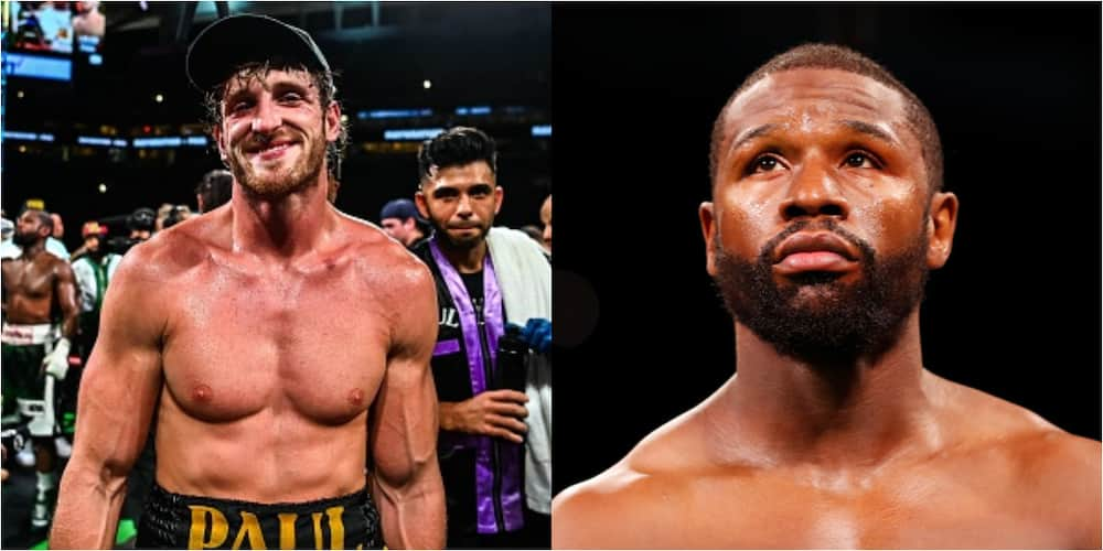 Mayweather reveals why he could not knock Logan out is exciting exhibition bout