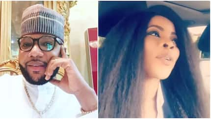 I asked E-Money to bless me and he sent me N500k - Excited Laura Ikeji reveals (video)