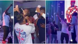 Dem wan kill me with money: Singer Kcee exclaims as fans rain cash on him in new video