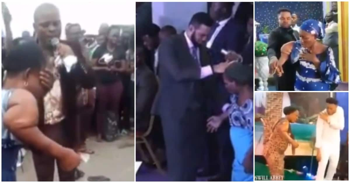 Audio Miracle: Four different Nigerian pastors use same woman for same miracle