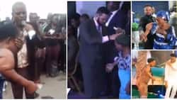 Faux miracle: Five different Nigerian pastors take advantage of woman's health condition to fool congregation