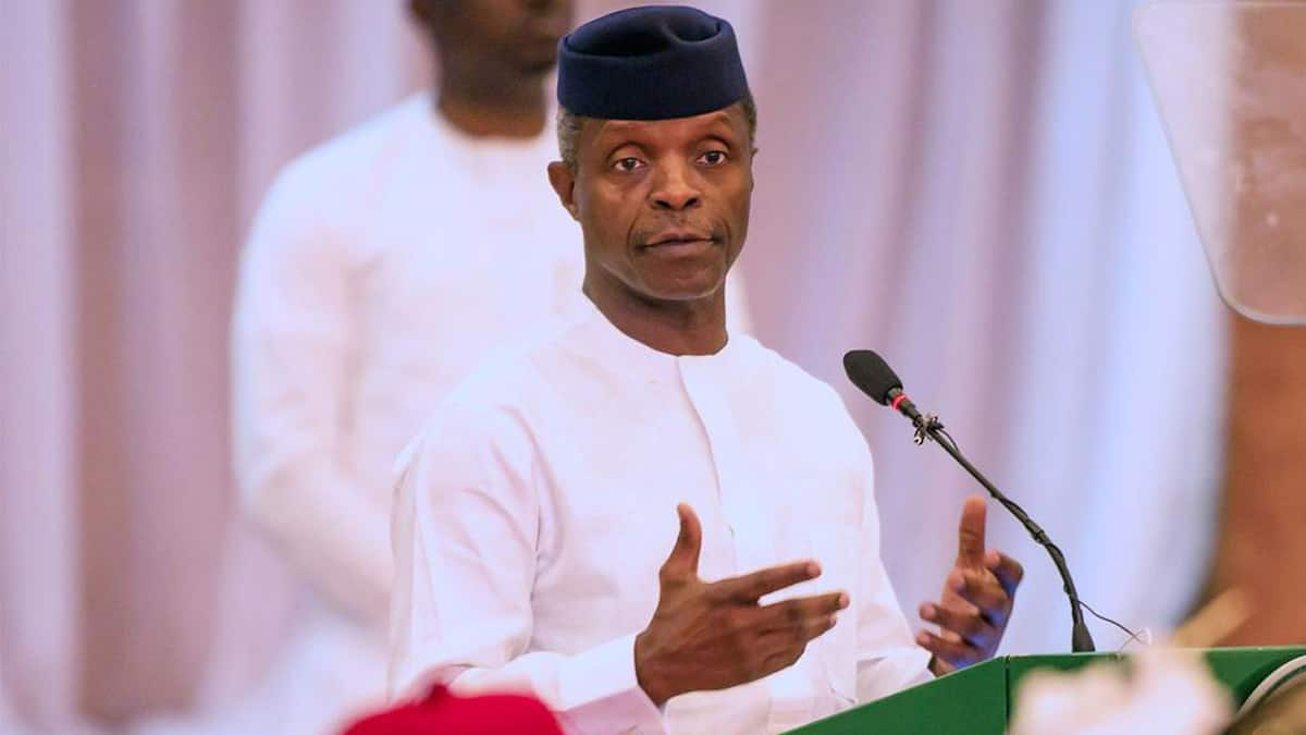 This is what will happen if we go our separate ways - Osinbajo warns Nigerians