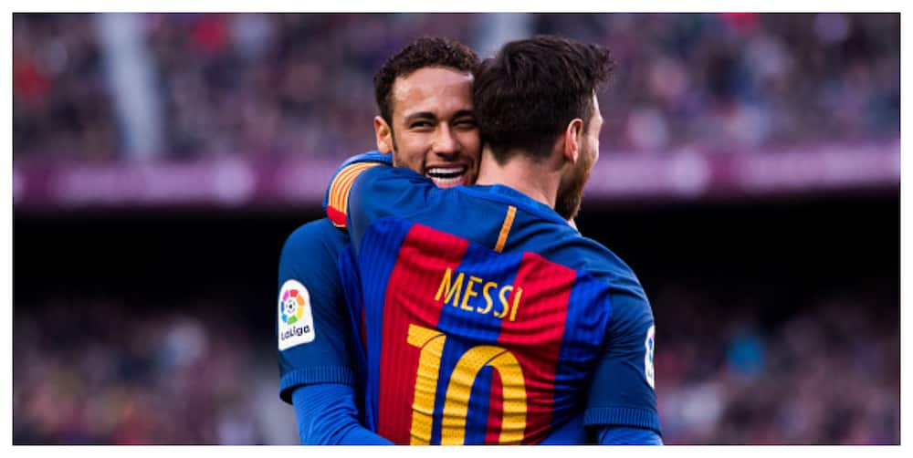 Neymar messaged Messi they would meet again before UCL last 16 draw