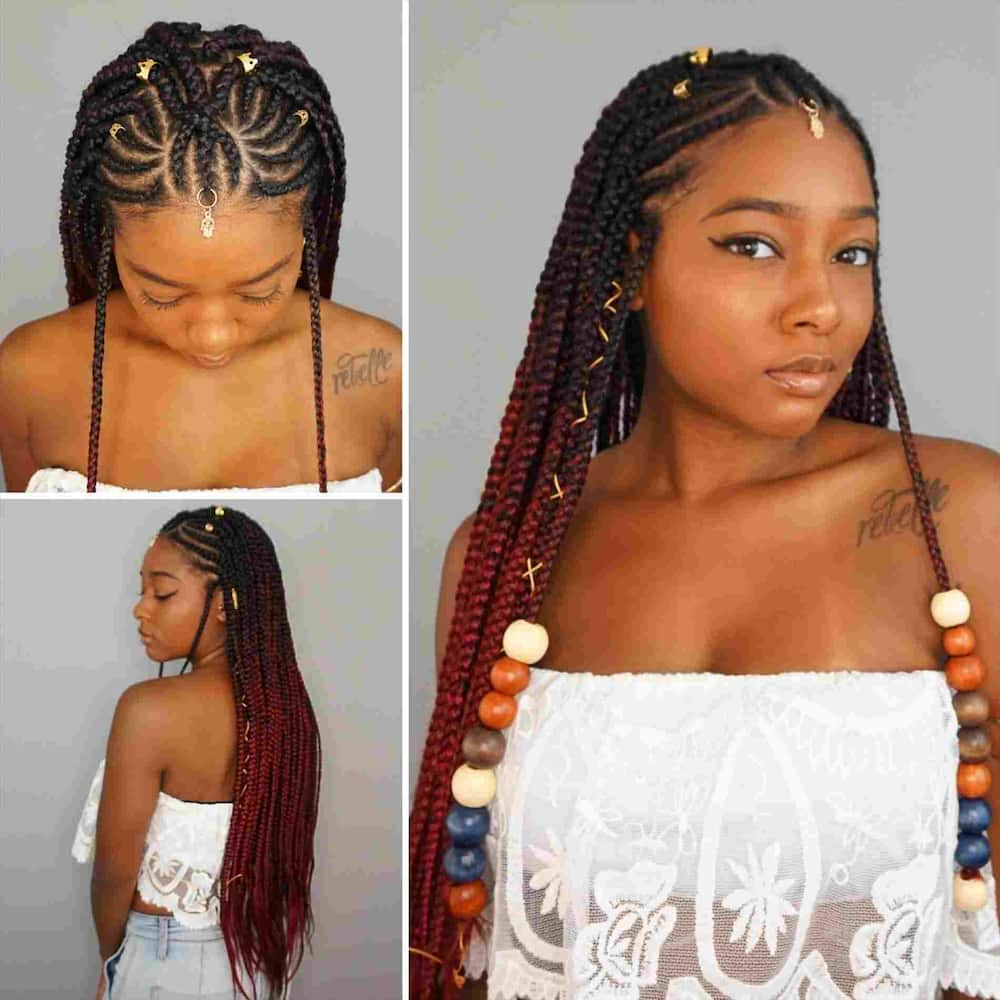 Outstanding Best Cornrow Hairstyles For Round Faces Legit Ng Natural Hairstyles Runnerswayorg