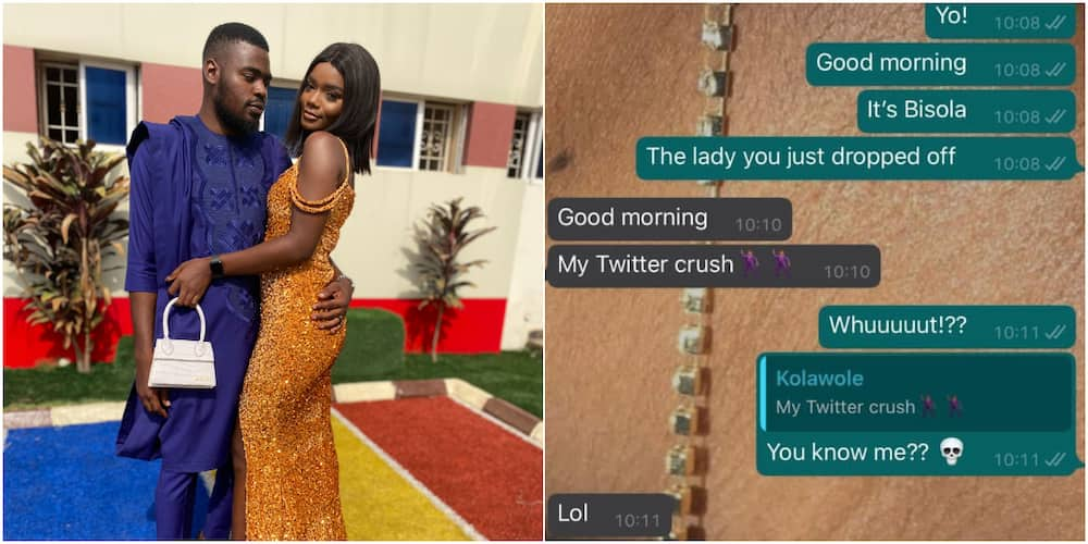 Nigerian lady reveals how she fell in love with her Bolt driver