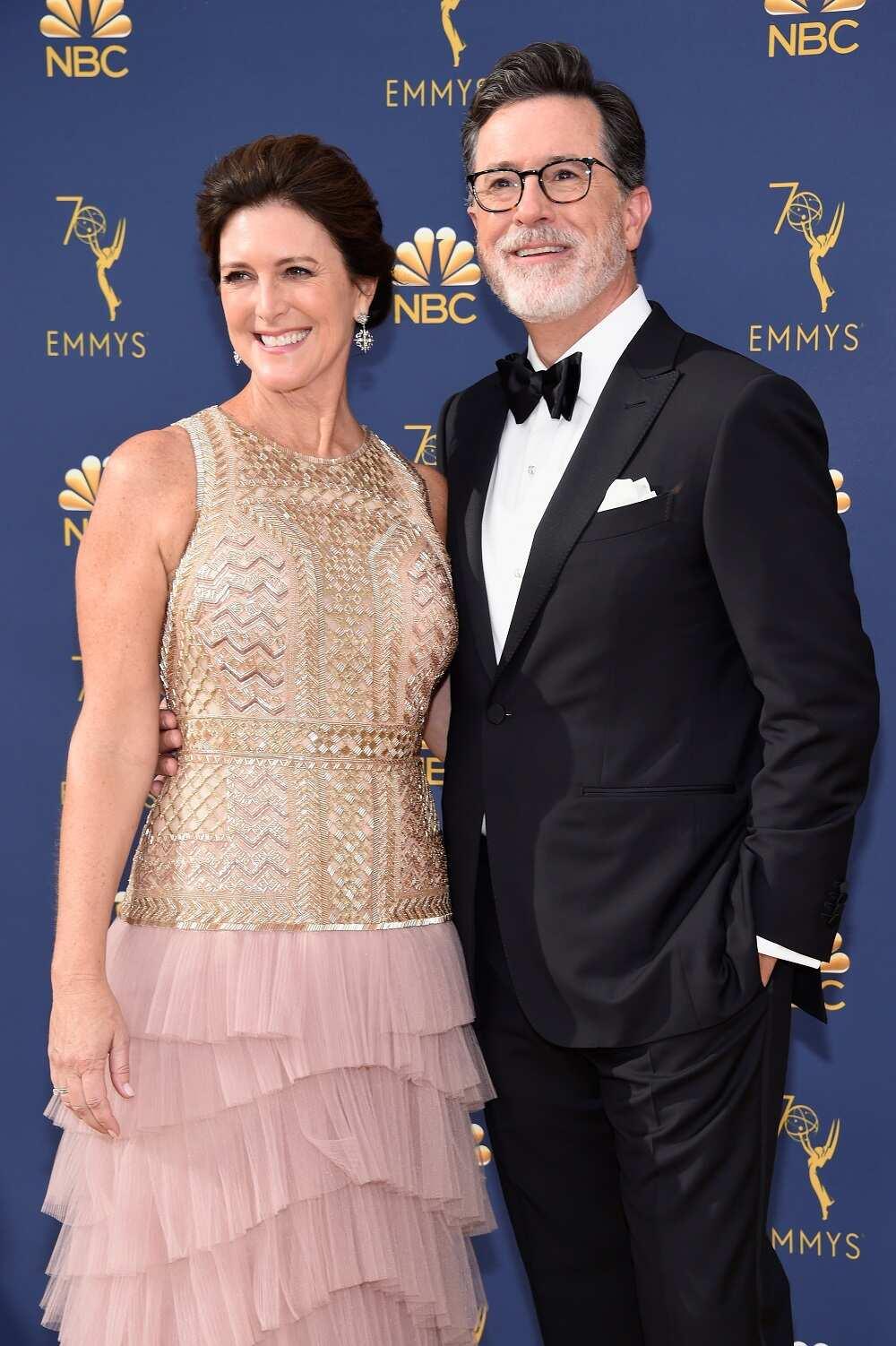 Stephen Colbert wife