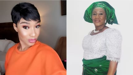 Tonto Dikeh disagrees with Patience Ozokwor for saying hair weaves are dedicated to shrines