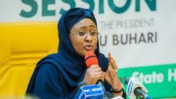Aisha Buhari reacts to Twitter ban, sends last emotional tweet to Nigerians