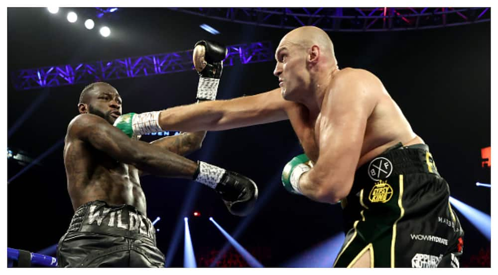 Tyson Fury slams Deontay Wilder for accusing him of lying about COVID-19