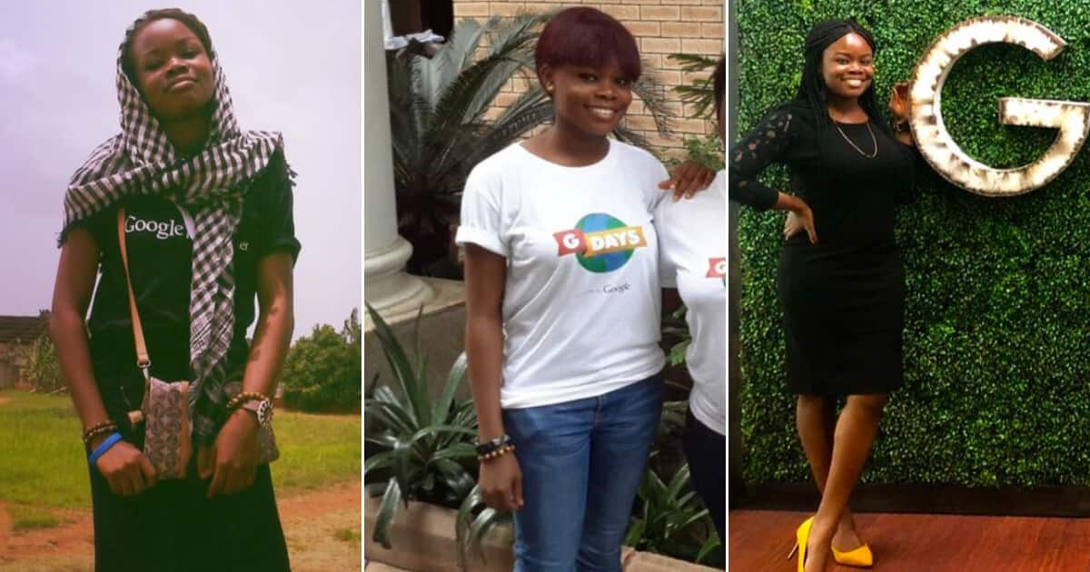 Many praise lady who fulfills dream of working with Google despite all odds