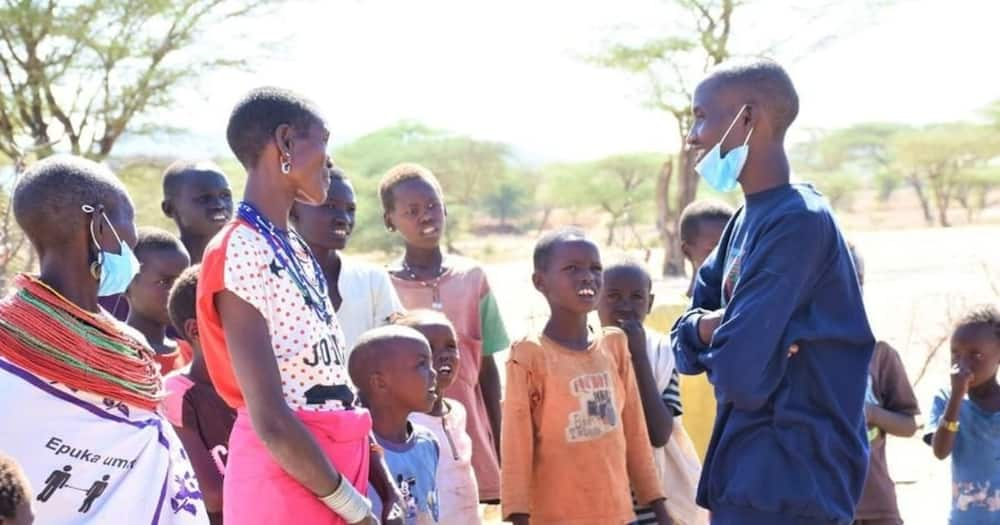 Samburu Man Speaks For the First Time After 19 Years of Silence