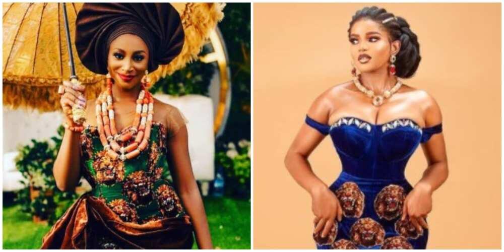 Photos of ladies in isiagu.