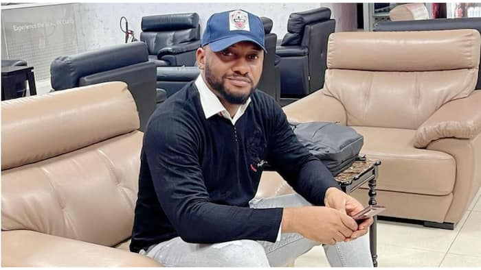 Yul Edochie: Be my sugar daddy, lady in search of cash, love storms presidential aspirant's inbox